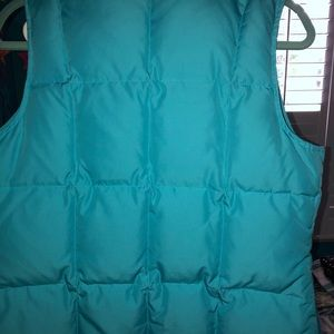 Talbots Jackets & Coats - Talbots Sky blue down quilted vest petite S